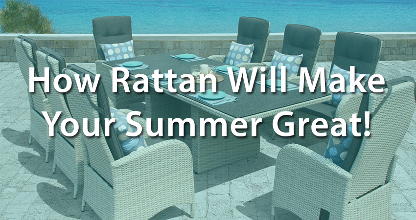 How Weatherproof Rattan Furniture Makes Your Decking Area Better